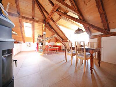 Sous-location meublée 3,5 p / 2 chambres / 1 SDB / vue lac image 1