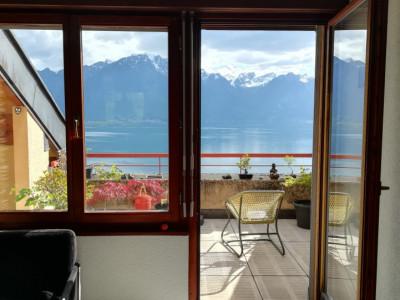 Montreux - Appartement de 2 pièces à louer avec superbe vue image 1