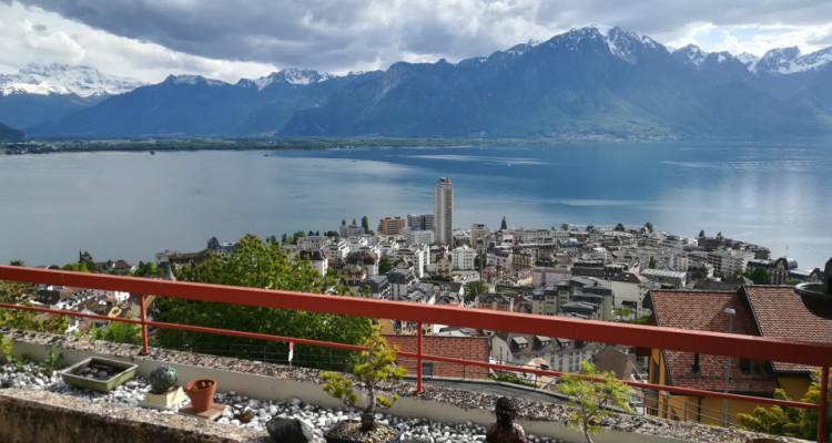 Montreux - Appartement de 2 pièces à louer avec superbe vue image 2