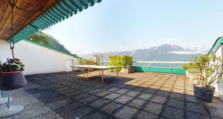 Bel appartement avec vue lac et montagnes panoramique à Veytaux. image 3