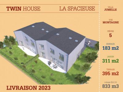 TWIN HOUSE - SPACIEUSE - VUE MONTAGNE - LIVRAISON 2023 image 1