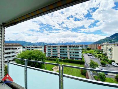 Magnifique appartement traversant 3.5 p / Terrasse et balcon / Vue  image 1