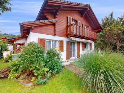 Jolie maison dans un écrin de verdure à 200m du lac de Gruyère image 1