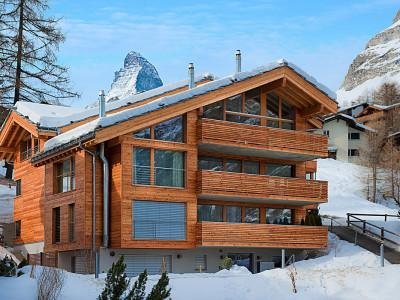 4.5 Zimmer Maisonette Dachwohnung mit phänomenaler Aussicht image 1