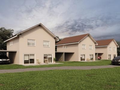 A saisir, nouvelle promotion de 3 villas individuelles à 15 minutes de Fribourg image 1