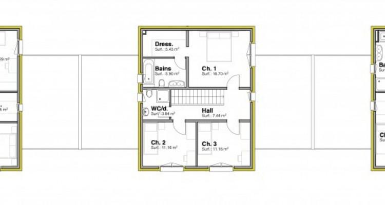 A saisir, nouvelle promotion de 3 villas individuelles à 15 minutes de Fribourg image 9