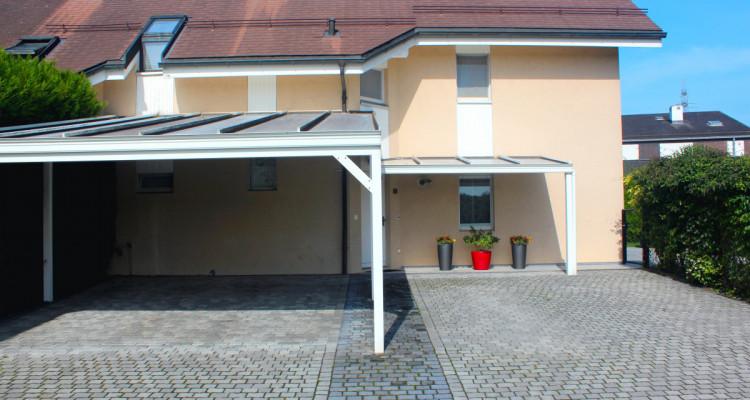 Spacieuse villa jumelle sur 4 niveaux, au coeur de Bogis-Bossey. image 3