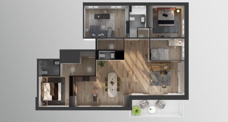 Magnifique appartement 6,5 pièces avec vue image 3