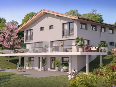 Villa Mitoyenne neuve  6.5 pièces en PPE - 1261 Le Vaud - Villa C image 1