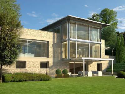 Magnifique maison posée sur le lac image 1