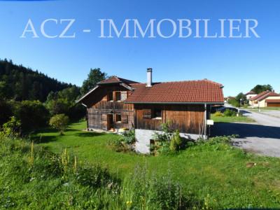 MAISON BOIS Chalet contemporain, Zone frontalière à 10 Km de La Suisse image 1