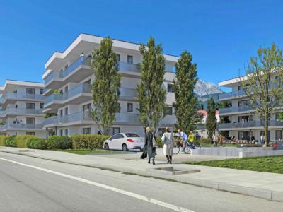 FOTI IMMO - Appartement de 2,5 pièces en attique avec 2 balcons. image 1