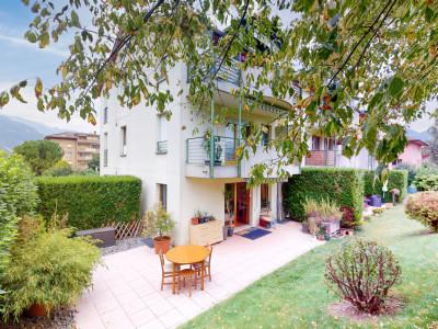 Magnifique 3.5 pièces en rez de jardin au calme à Collombey-Muraz image 1