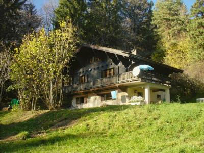 Gryon Immo vous propose un joli chalet de 2 appartements dans une nature magnifique image 1