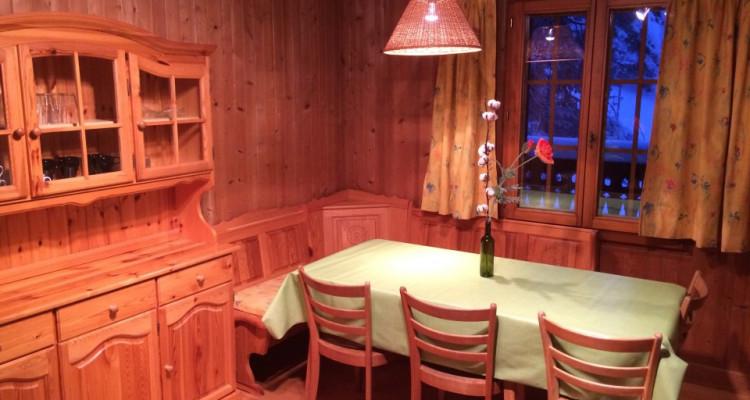 Gryon Immo vous propose un joli chalet de 2 appartements dans une nature magnifique image 4