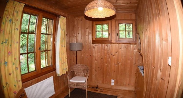 Gryon Immo vous propose un joli chalet de 2 appartements dans une nature magnifique image 10