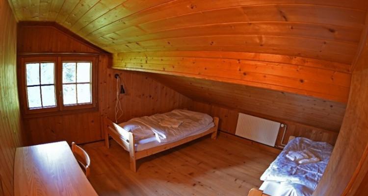 Gryon Immo vous propose un joli chalet de 2 appartements dans une nature magnifique image 11