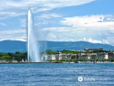 Terrain vue Lac pour villa de luxe. image 1
