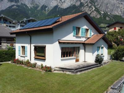C-SERVICE vous propose une villa individuelle au centre de Chamoson image 1