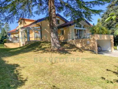 Versoix : Magnifique villa individuelle située dans un cadre verdoyant image 1