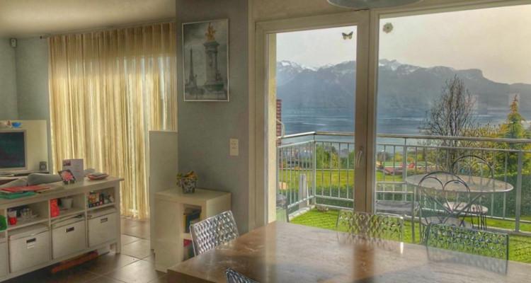 Belle villa jumelle moderne,  6.5 pces, calme,  superbe vue lac image 4