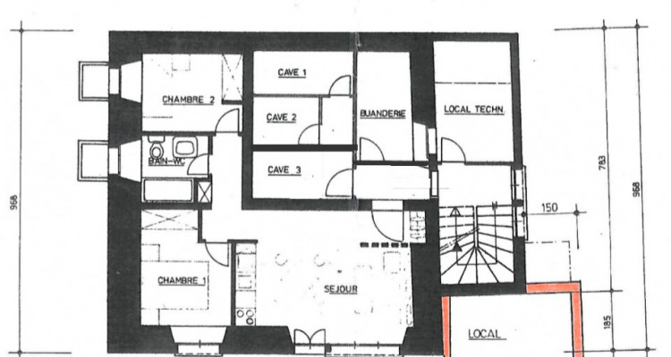 Appartement 3,5 pièces au rez-jardin + pièce indépendante image 13