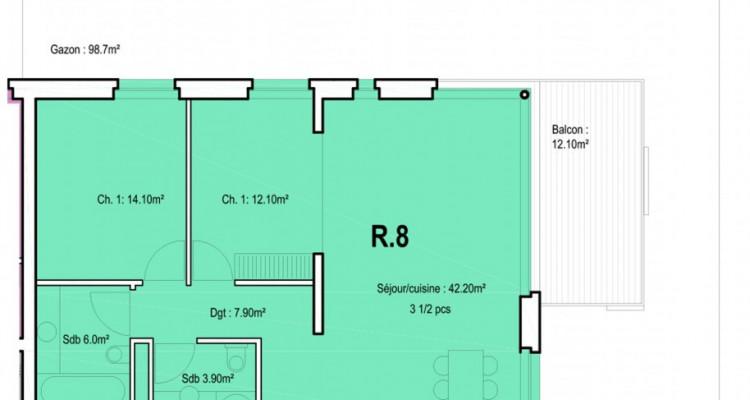 HOME SERVICE vous propose un appartement de 3,5 pièces au centre-ville. image 5