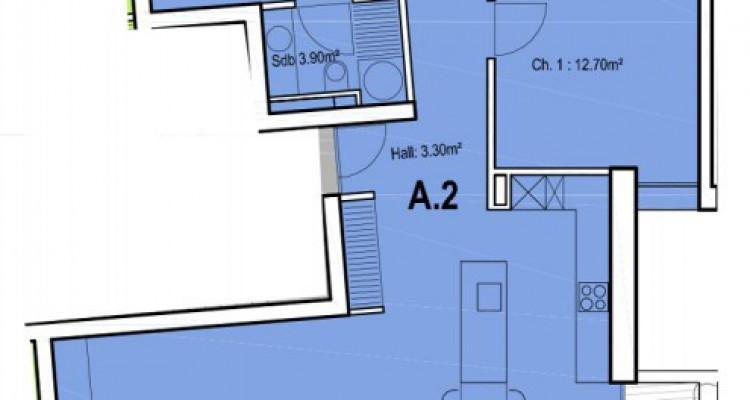Appartement en attique de 4,5 pièces au centre-ville. image 5