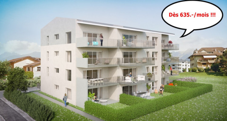 FOTI IMMO - Appartement de 4,5 pièces avec balcon. image 4