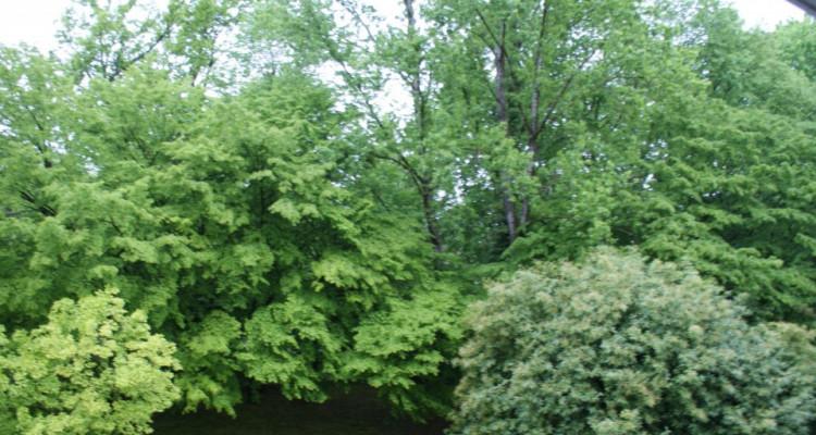 Eaux vives Genève 4p résidence calme pour investisseur loyer 36000/an image 2
