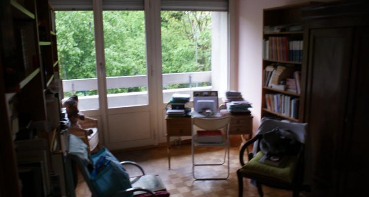 Eaux vives Genève 4p résidence calme pour investisseur loyer 36000/an image 3