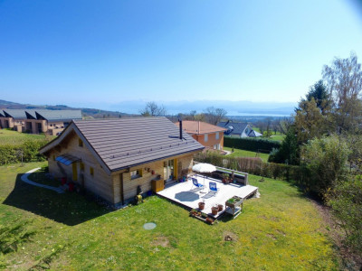 Villa minergie style chalet idéalement située à le Muids image 1