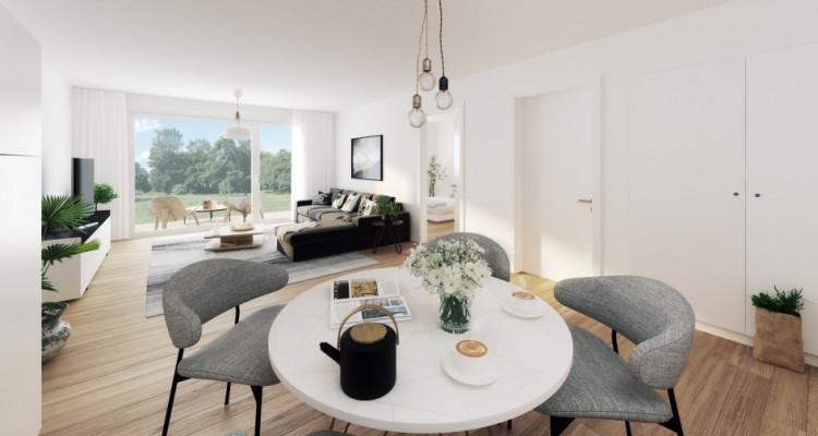Superbe attique de 2,5 pièces avec balcon sur plan ! image 2