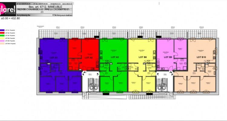 Superbe attique de 2,5 pièces avec balcon sur plan ! image 11