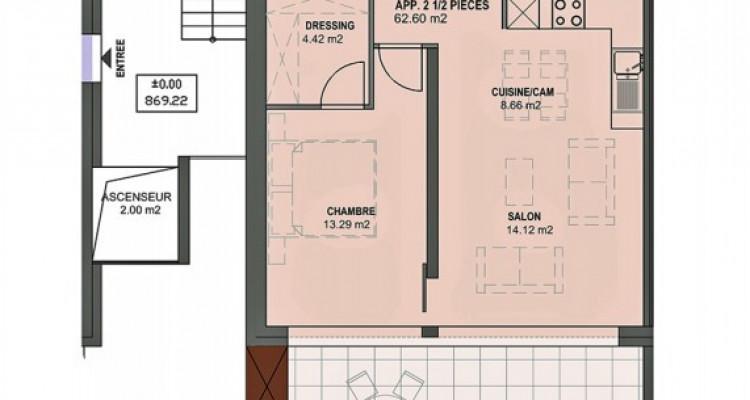Bel appartement MINERGIE de 2,5 pièces avec balcon. image 5