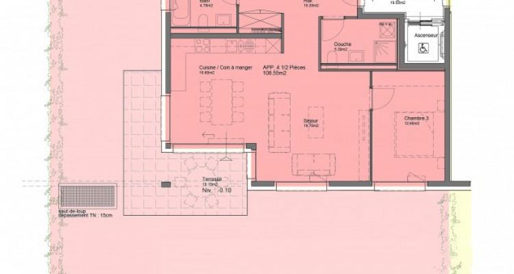FOTI IMMO- Bel appartement de 4,5 pièces avec jardin. image 7