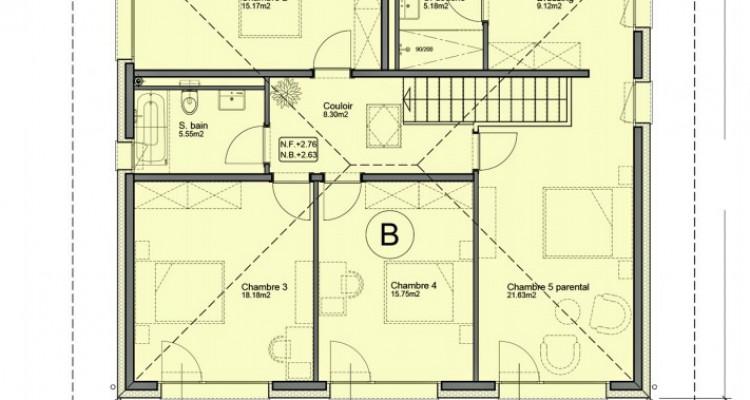 Villa individuelle de 6,5 pièces avec piscine. image 8