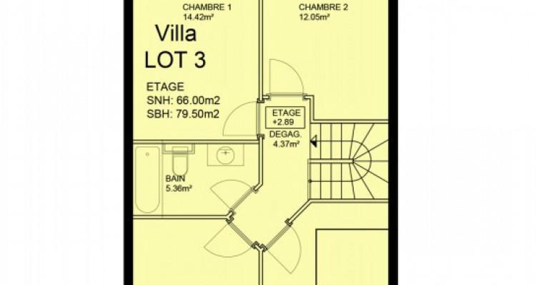 Villa mitoyenne de 5,5 pièces avec jardin. image 6