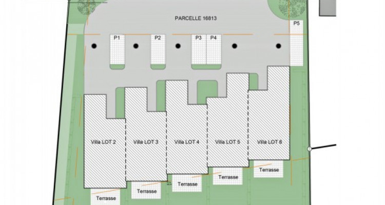 Villa mitoyenne de 5,5 pièces avec jardin. image 7