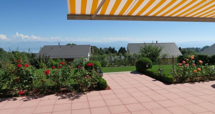 Wunderschöne Villa mit außergewöhnlichem Blick auf den Genfer See image 9