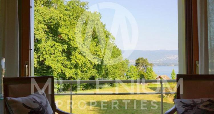 Maison contemporaine vue Lac à Yvoire (France) image 2