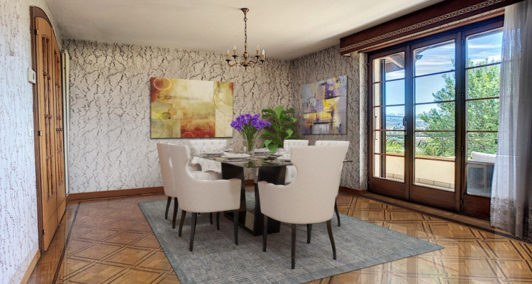 Maison individuelle surplombant Yverdon. image 3
