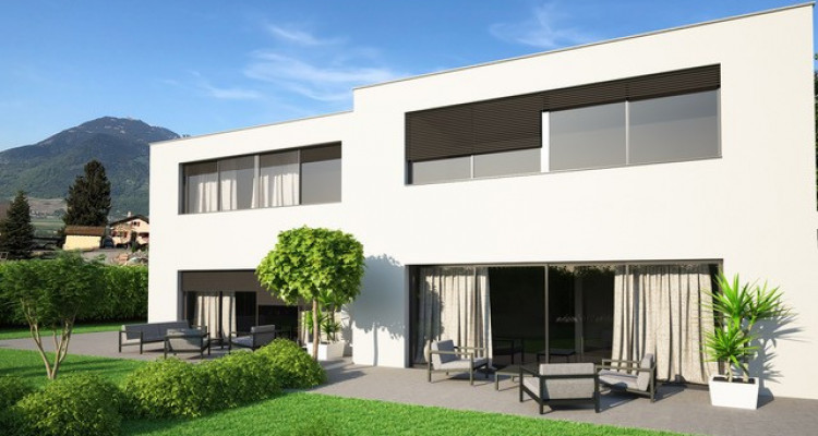A vendre villa jumelée de 4,5 pièces à Chöex image 1