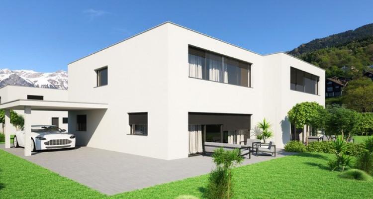 A vendre villa jumelée de 4,5 pièces à Chöex image 2