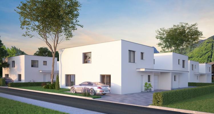 C-Immo vous propose une villa individuelle de 5.5 pièces sur plans image 2