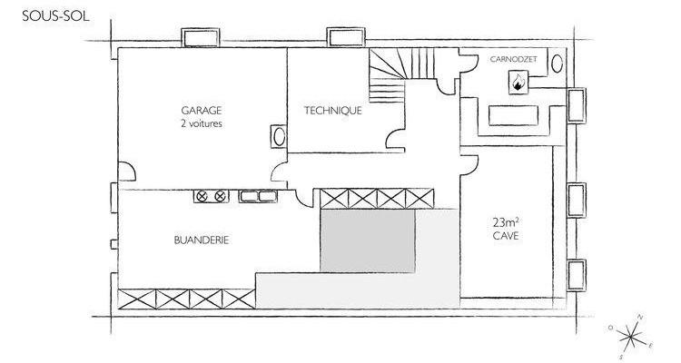 A louer villa traditionnelle à Collex image 12