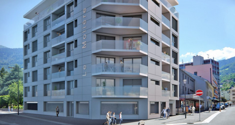 C-IMMO vous propose un local commercial au centre de Monthey! image 2