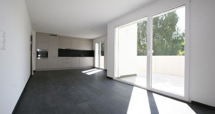4,5 pièces 1° étage, soleil toute la journée, avec grand balcon et 2 places de parc, dans immeuble neuf. image 3