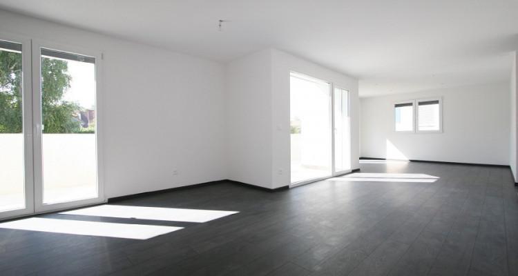 4,5 pièces 1° étage, soleil toute la journée, avec grand balcon et 2 places de parc, dans immeuble neuf. image 4