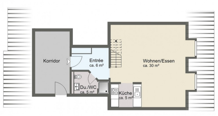 Gepflegte Maisonnettewohung + Tiefgaragenstellplatz.  image 6